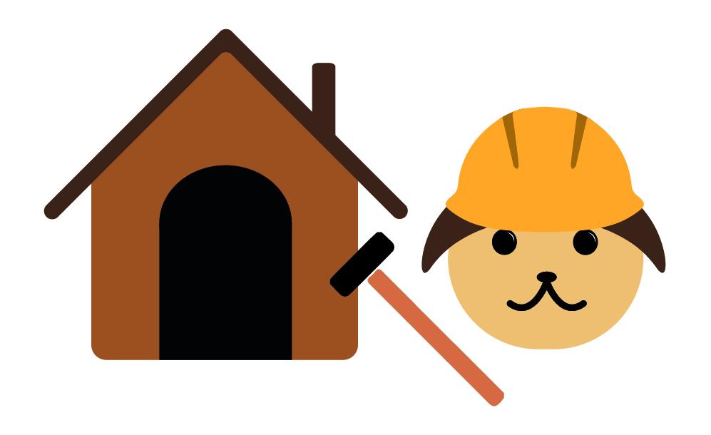 zelf-hondenhok-maken-hout