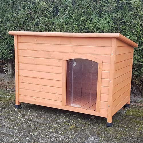 houten-hondenhok-bungalow-L