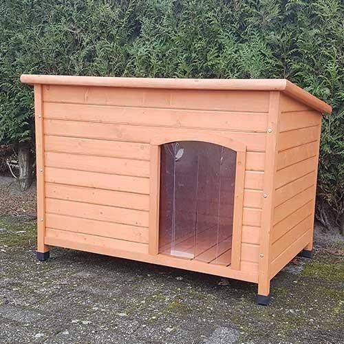 houten-hondenhok-bungalow-s