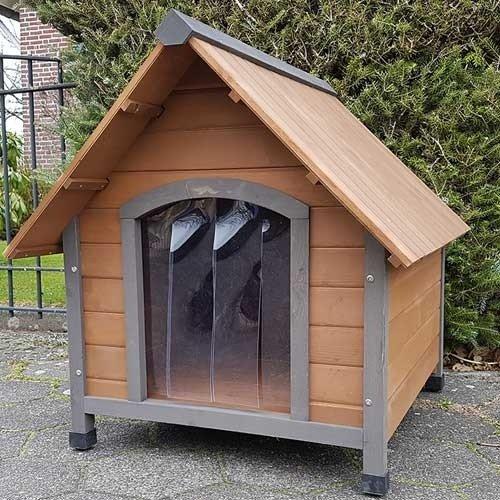 houten-hondenhok-rustiek-schuin